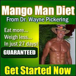 MangoMan Diet Green with Wayne